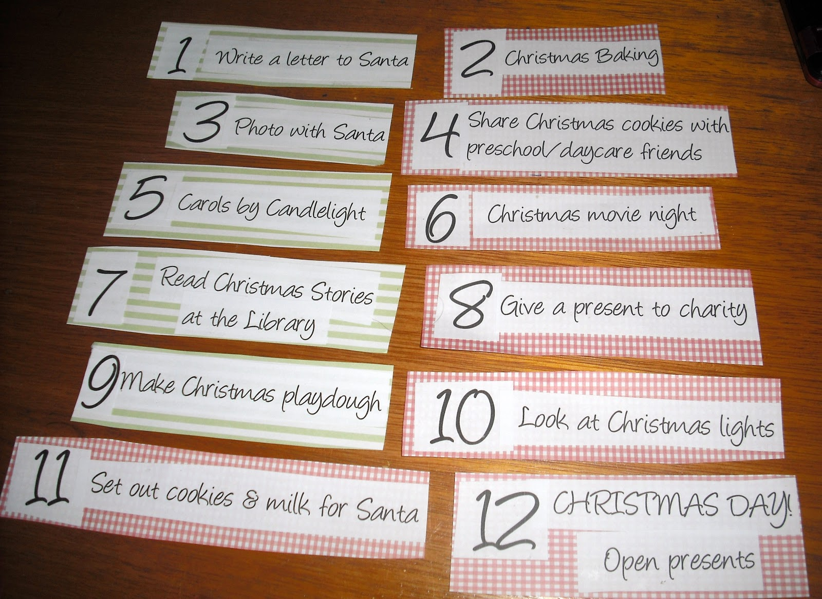 The Merry Mummy 12 Days Of Christmas Activities