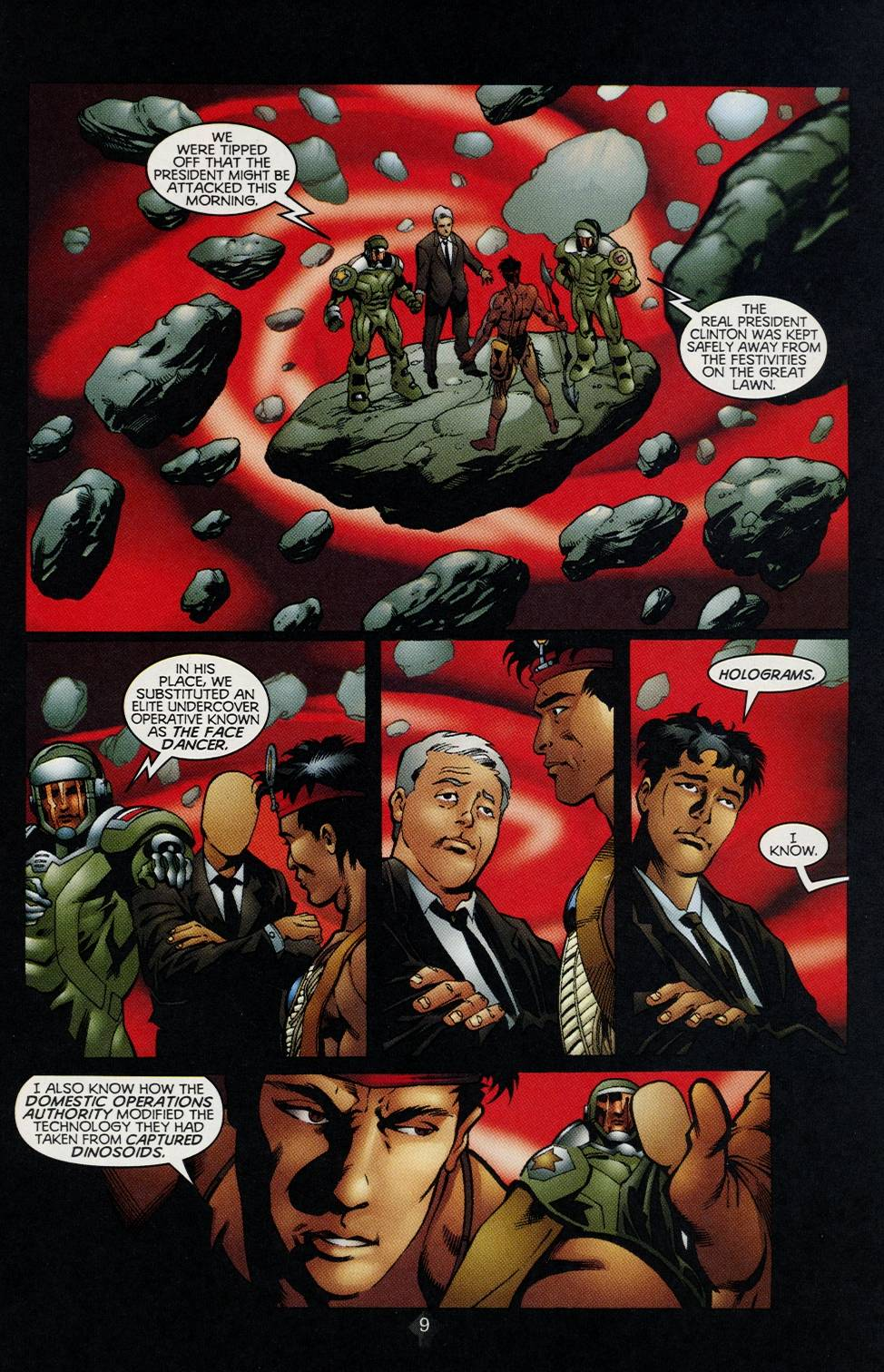 Read online Turok comic -  Issue #2 - 7