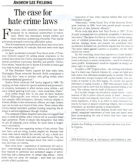 Informative Essay On Hate Crimes