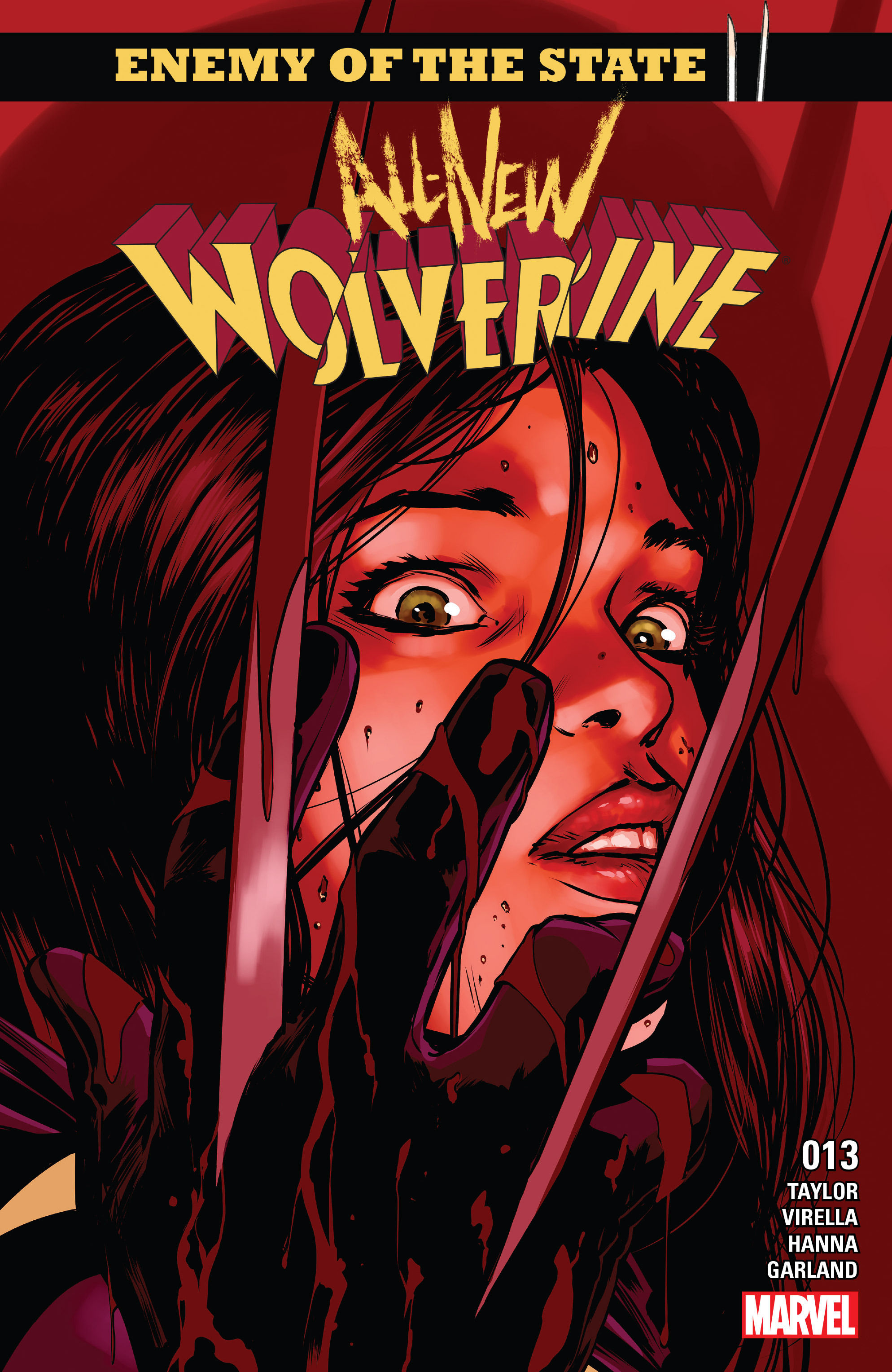 Read online All-New Wolverine (2016) comic -  Issue #13 - 1