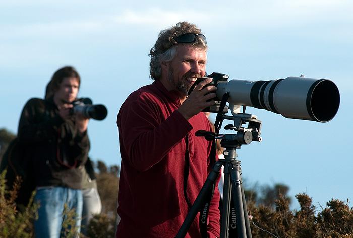 fotógrafos de Aventura, en Punta Norte,Península Valdés