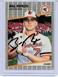 Fatpickled Favorite All Time Baseball Card Bill Ripken 89