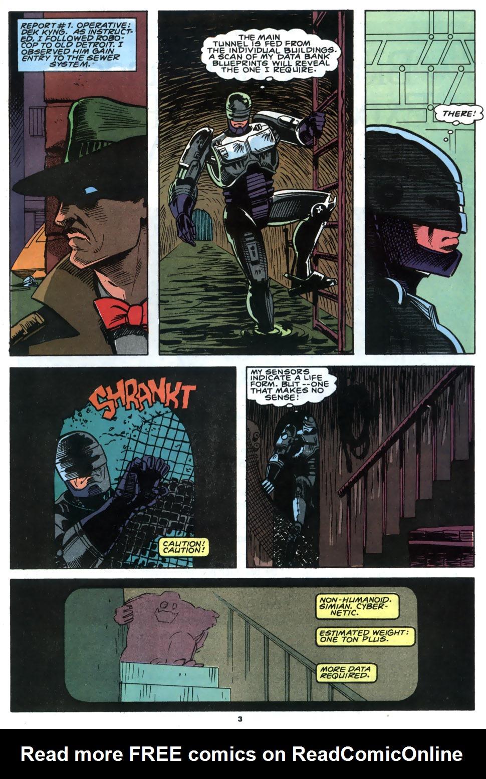 Read online Robocop (1990) comic -  Issue #4 - 4