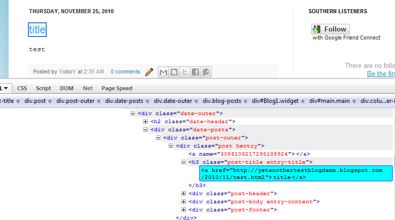 Southern Speakers v3 0: Open Blogger Links in New Tabs