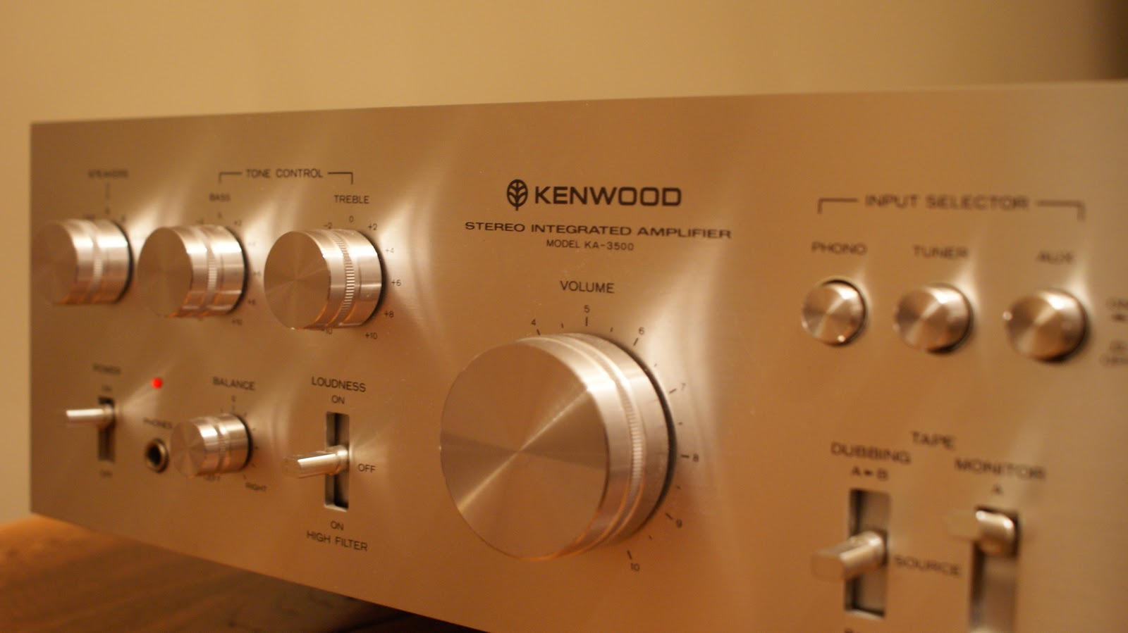 Vintage Sound Kenwood Ka3500 Integrated Amp