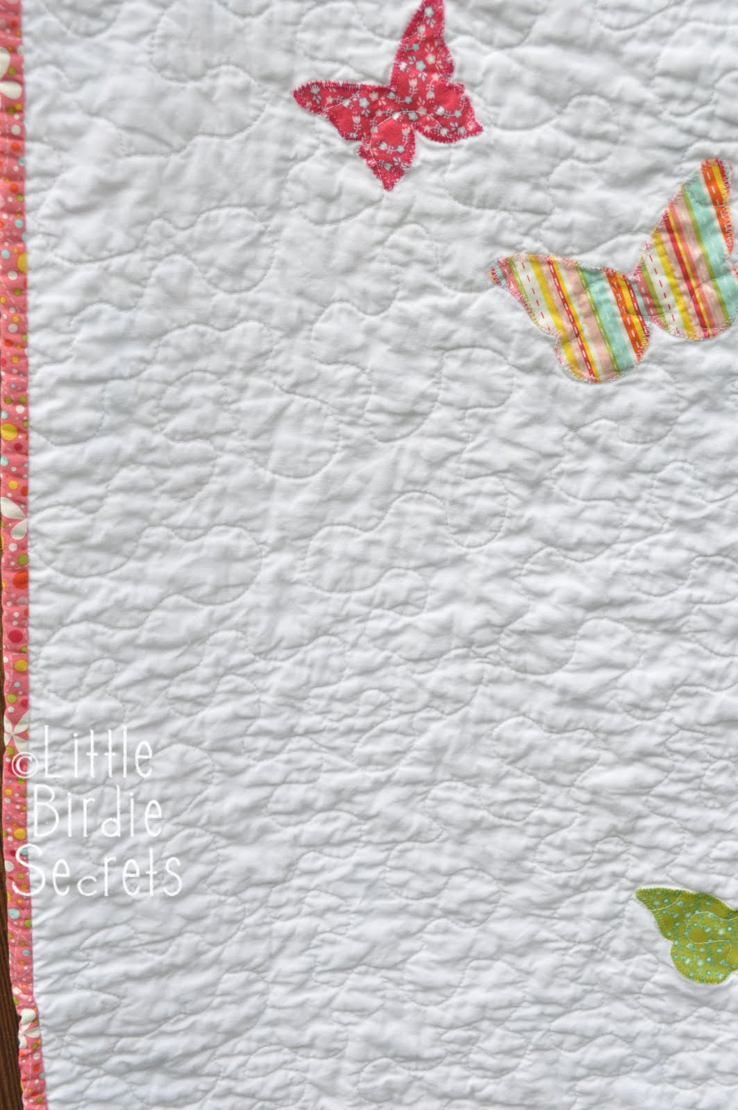 How To Free Motion Quilt Stipple Pattern Video Little