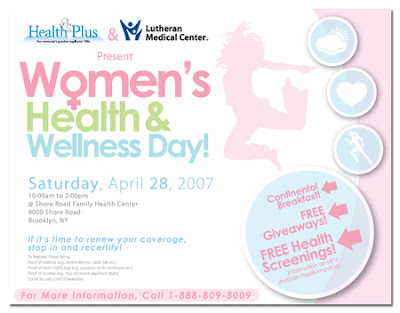 Health and Wellness Poster Template | PosterMyWall |Wellness Day Event Flyers