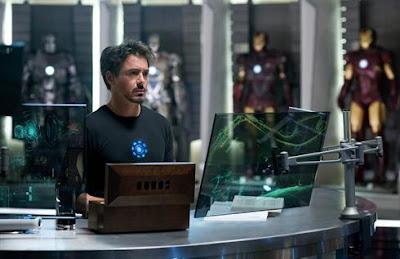 Robert Downey Jr. en Iron Man 2