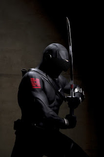 snake eyes G.I. Joe: The Rise of Cobra
