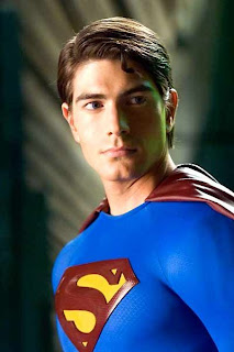 Brandon Routh como Superman en la película de Bryan Singer