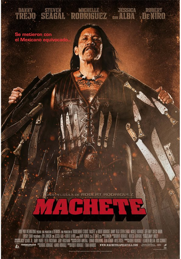 Póster de Machete