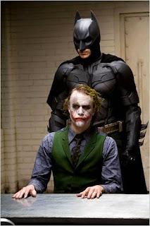 Fotograma de 'El caballero oscuro' de Christopher Nolan DC Comics