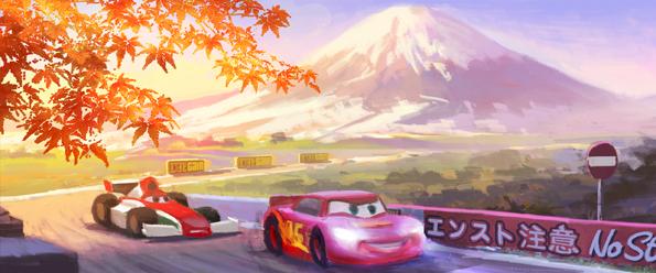 Concept art de Cars 2