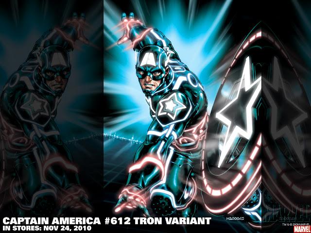 Tron Capitán América