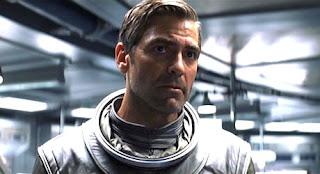 George Clooney en un fotograma de Solaris