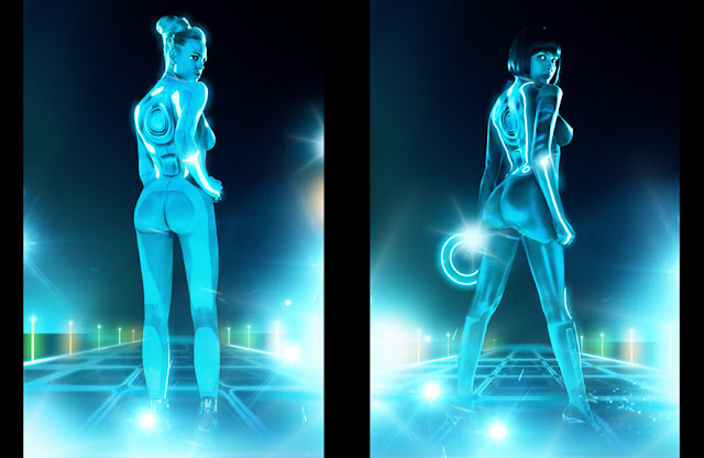 Playboy rinde tributo a Tron