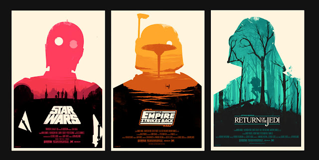 Posters de Star Wars de Olly Moss