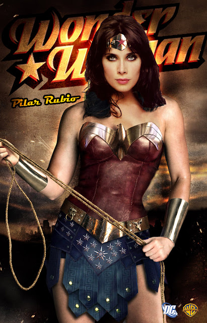 Pilar Rubio como Wonder Woman