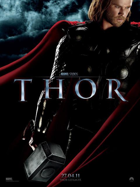 Póster Francés de 'Thor'