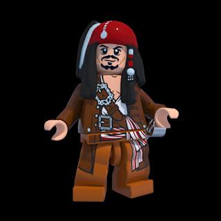 Jack Sparrow en LEGO Piratas del Caribe