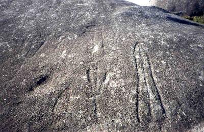 Imaxe petroglifo Auga da Laxe. Foto: vigoarqueologico.blogspot.com