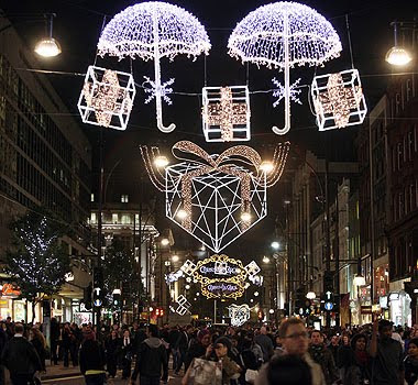 - Christmas Street Lights: Public Space And Consumerism