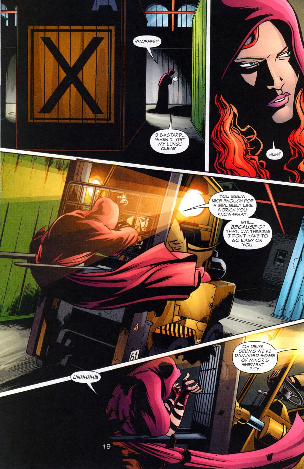 Read online Fallen Angel (2003) comic -  Issue #2 - 20