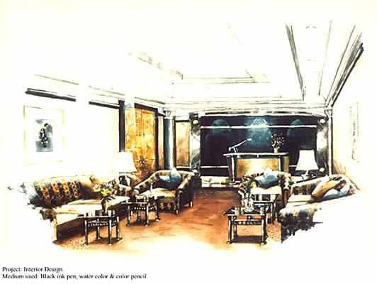 New Designs Home Interior Interior Design Drawing