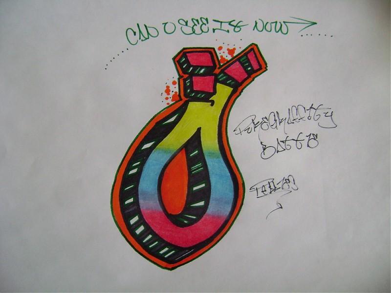 graffiti walls Graffiti Letteres  O  Alphabet Design
