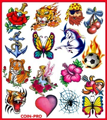 SYAITON DESIGNS: custom fake tattoos