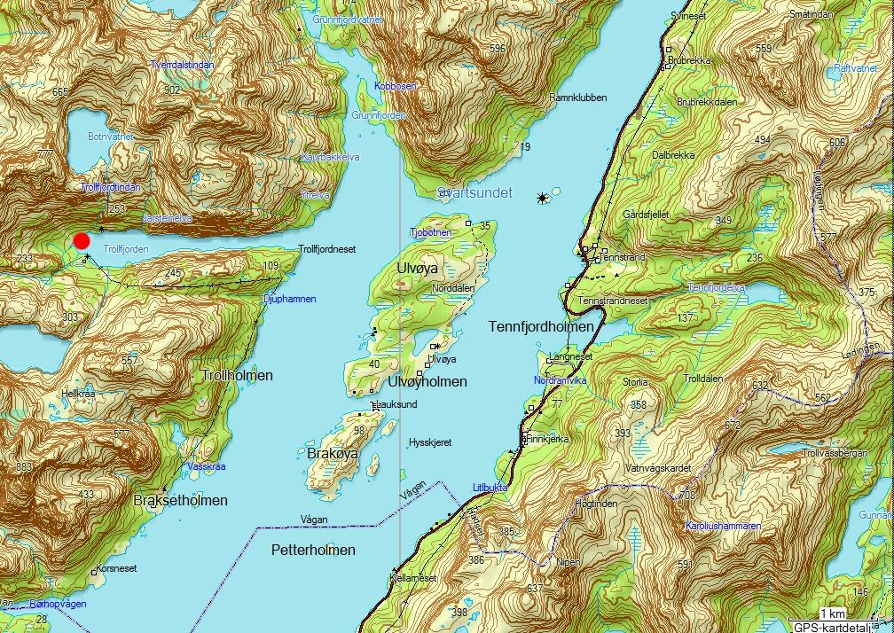kart trollfjorden Vesterålen Padleklubb: Høsttur til Trollfjord VPK tur 24 kart trollfjorden