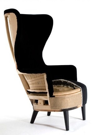 Tom Dixon Wing Back Chair Roman Situp Haussmith: October 2010