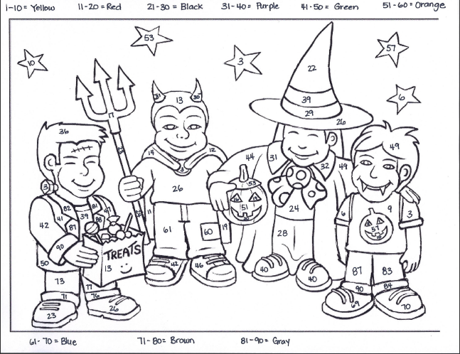 Owl Sheets Multiplication Coloring Pages