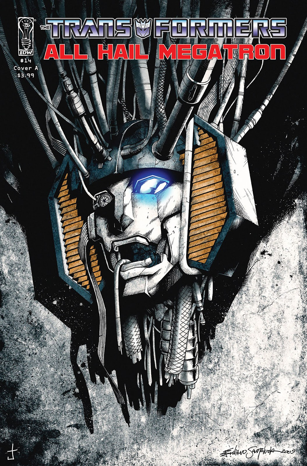 The Transformers: All Hail Megatron issue 14 - Page 1