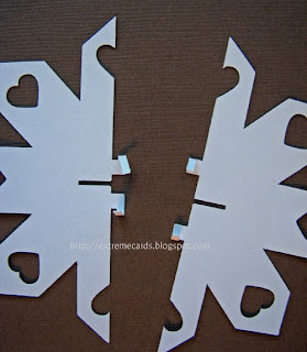 slotted snowflake
