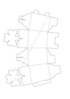 Extreme Cards and Papercrafting: Shamrock Box