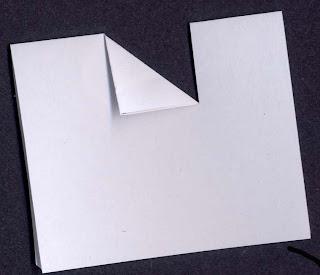 how to make v fold pop up