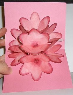 Extreme cards and papercrafting seven flower pop up card seven flower pop up card m4hsunfo