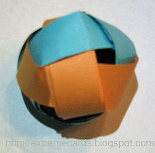 paper strip ball