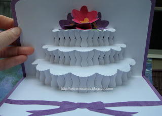 origamic architecture cake