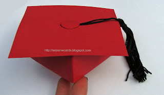graduation cap money holder