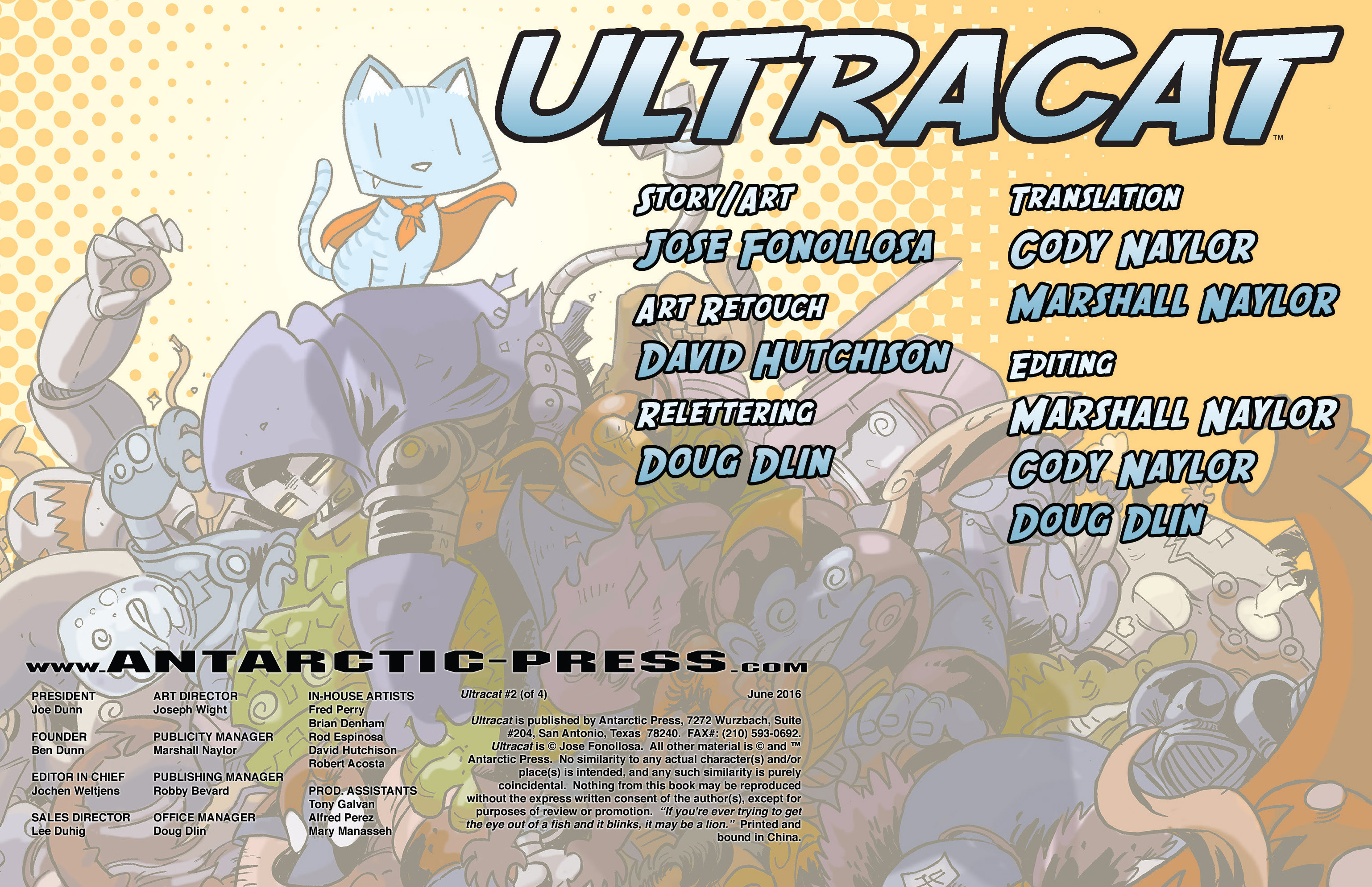 Read online Ultracat comic -  Issue #2 - 2