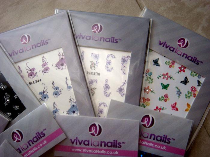 Viva La Nails Sample Pack Dizzy Miss Lizzi