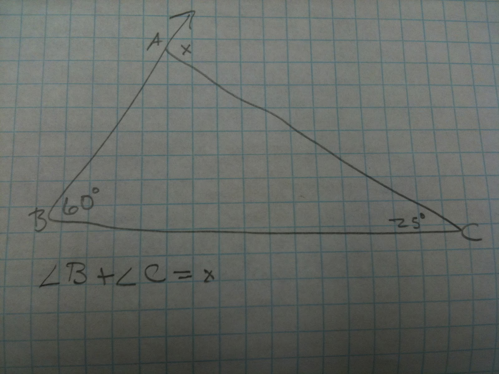 Questions exterior angles What do exterior angles of a triangle add up to