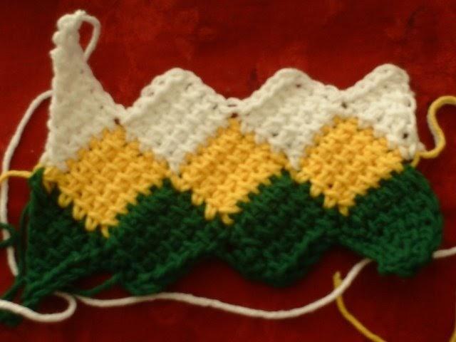 Crafty Andy Entrelac Crochet