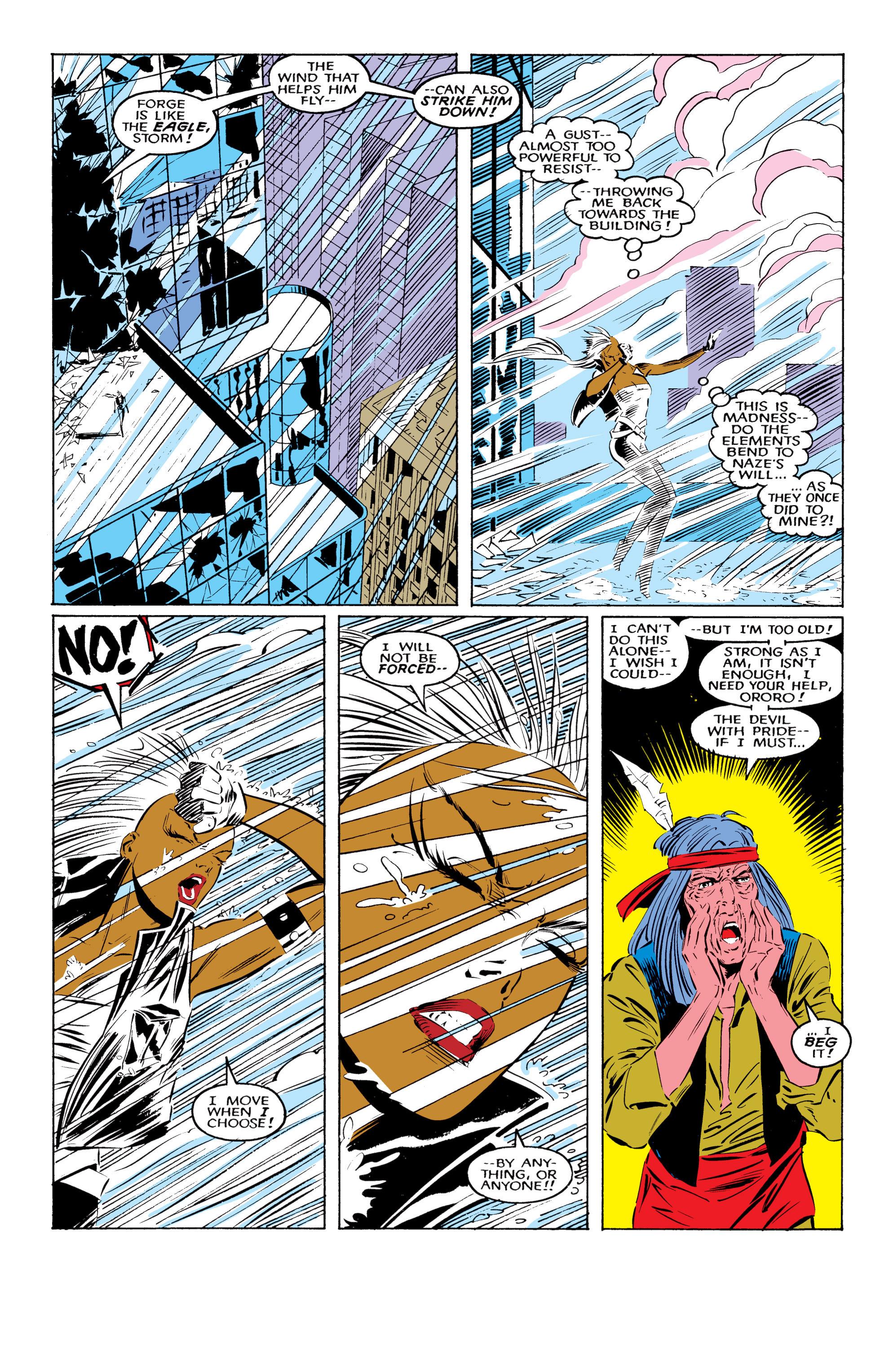 Read online Uncanny X-Men (1963) comic -  Issue #220 - 23
