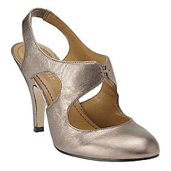 Nine West Zann Bronze Metallic Heels @ Chasing Davies