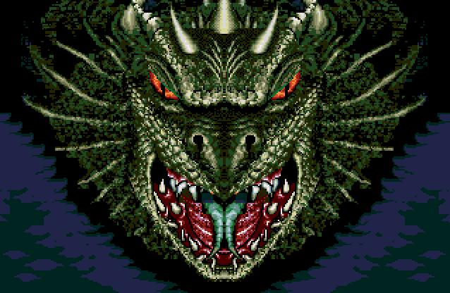 Dragon's Revenge (Genesis/Mega Drive)