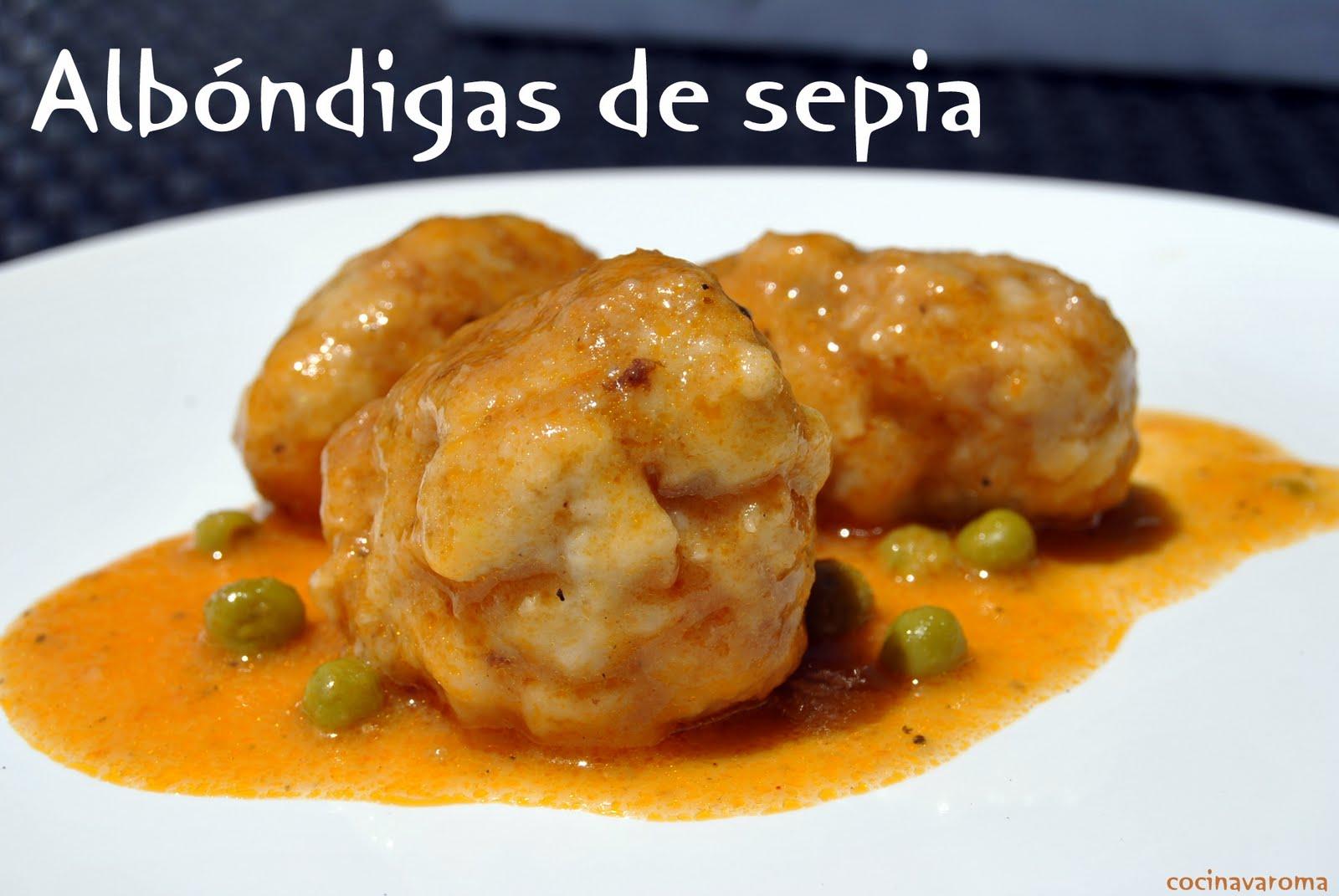 Cocina Varoma Albóndigas De Sepia