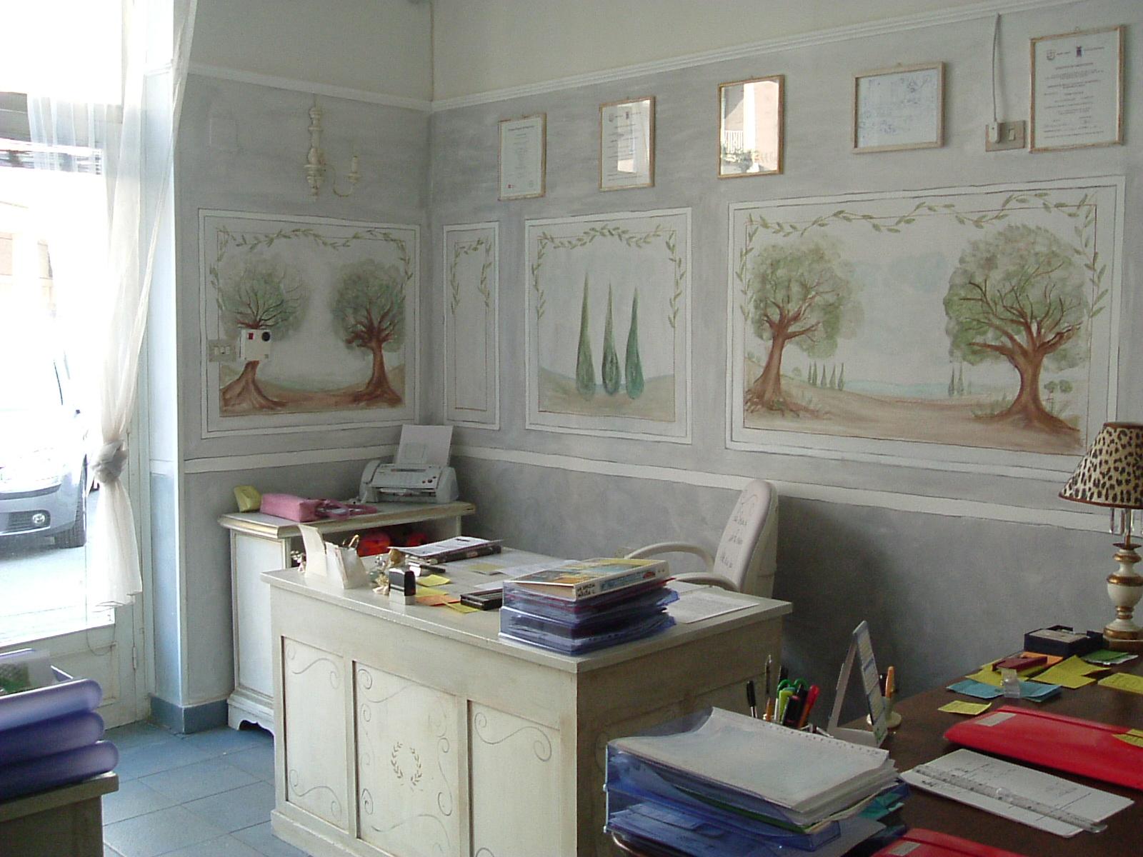Ufficio Stile Provenzale : Marzia sofia salvestrini lavori un ufficio in stile gustaviano